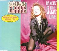 Rozlyne Clarke Maxi CD Dancin' Is Like Making Love - France (EX+/EX)