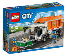 Multi-Coloured Garbage Truck City LEGO Complete Sets & Packs