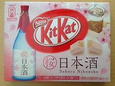 Japanese kitkats  nestles kitkat Japan 3P mini sakura sake chocolates rare candy