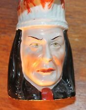 Old Native American Indian Head Pitcher or Creamer Made in Germany - Heber & Co.