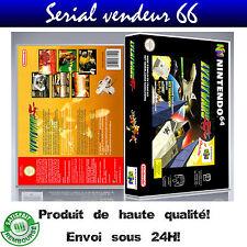 "Boitier du jeu ""LYLATWARS"", nintendo 64, visuel PAL FR. HD."