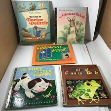 Lot of 5 Vintage Children's Books Hardcover