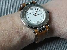 Michel Herbelin Newport Herren Armbanduhr Dresswatch Leder braun ☆ TOP ☆