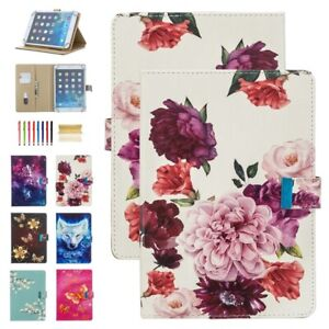 """Universal Lovely Pattern Magnetic Flip Stand Case Cover For 8"""" 10"""" inch iPad/Tab"""