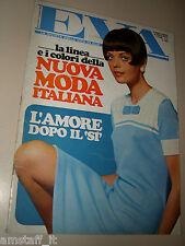 EVA=1968=FRANCO NERO VANESSA REDGRAVE=CHRISTIAN BARNARD=JANE FONDA=18 AGOSTO=