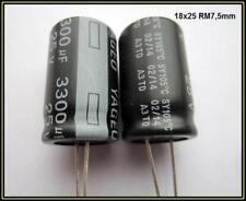Elko Kondensator Elektrolyt Capacitor 3300µF 25V 18x25 105° 2 Stück