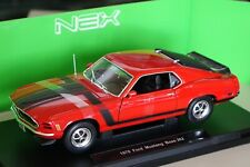 Ford Mustang Boss 302 1970 rot 1:18 Welly 18002r neu & OVP