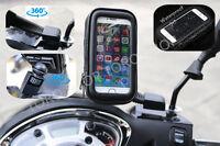 Motorcycle Bike Universal Mobile Phone Note GPS & Sat Nav Case Cover Holder