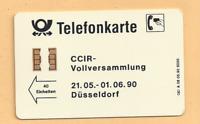 Telefonkarte - A 08  -  CCIR- Vollversammlung aus 1990 !  VOLL