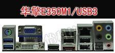 NEW I/O IO Shield Backplate For ASROCK E350M1/USB3 #T4017 YS