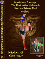 DVD:MAXIMUM DAMAGE :The Destructive Kicks & Knees Of Muay Thai Malaipet