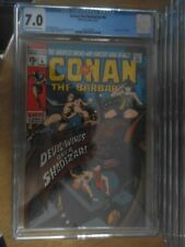 conan the barbarain 6 cgc 7.0.rare and a scarce issue non distributed in the uk