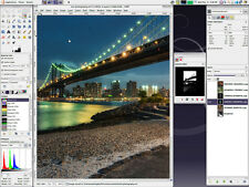 Photo Editing Software - Photoshop CS6 CS5 Alternative + Plus Tutorials DVD - UK