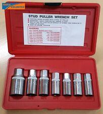 T&E Tools 7 Pce Metric Roller Cam Stud Extractor / Installer Set      5049