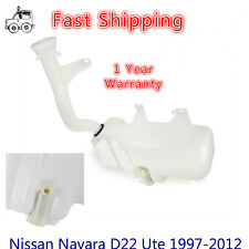 Windscreen Washer Bottle & Motor to fit Nissan Navara D22 Ute 1997-2012 with Cap