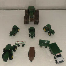 John Deere 1/64th diecast Lot of 9pcs