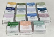Stampin Up INK SPOTS Cubes Mini Dye Stamp Pads Lot of 15
