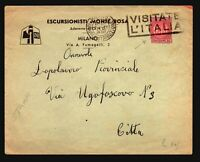 Italy 1938 Cover / Revenue Used As Postage  - Z17885