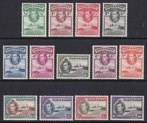 Gold Coast - SG 120a/132 - u/m - 1938/43