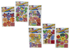 KIDS TOY JUMBO EVA STAMP SETS WITH INK PAD CRAFTS CREATIVE FUN STAMPING STAMPS
