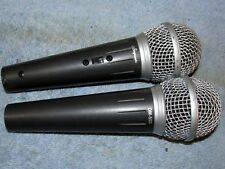 (2) Vtg STAGEWORKS DM 500 Pro/Stage Microphone Mic Lot J217