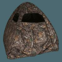 Hunting Ground Blind  Pop Up Tent Realtree Deer Turkey Portable Ground 1 Man