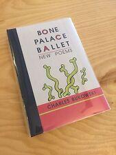 Bone Palace Ballet by Bukowski 1997 1st Edition Black Sparrow Press