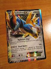 NM Pokemon COBALION EX Card PLASMA STORM Set 93/135 BW Black White Ultra Rare BW