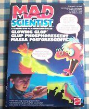 MAD SCIENTIST GLOWING GLOP MATTEL - VINTAGE - MASSA FOSFORESCENTE