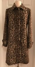 J.CREW TOPCOAT IN DOUBLE LEOPARD SIZE 8 SNOW LEOPARD H2734 2017 SOLD OUT