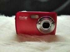 Vivitar ViviCam 7024 7.1MP Digital Camera - Red