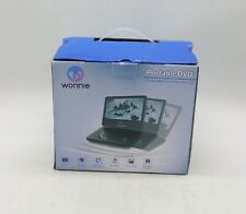 New listing Wonnie 7'' Dual Screen Dvd Player Portable Car Headrest Video Built-in 5 Hours