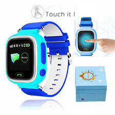 Kids GPS LBS Smart Safe Watch Anti-Lost Locator Remote Monitor SOS Call SIM UK