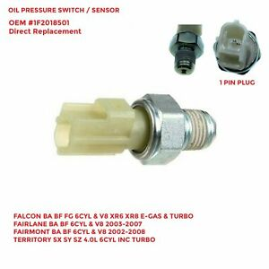 Oil Pressure Switch for Ford TERRITORY SX SY SZ 4.0L 6CYL INC TURBO