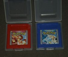 pokemon red and Blue Gameboy
