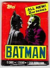 BATMAN SERIES 2 (Topps, 1989 Movie)--Unopened Wax Pack(s)/ Batman+Joker Wrapper^