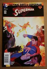 Superman #52 new 52 Final Days News Stand Variant 1st Print $4.99