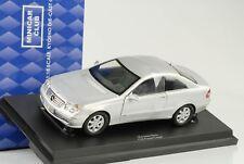 2009 Mercedes-benz CLK C209 Coupè Argento 1 18 Kyosho Diecast