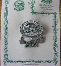 "1847-1997 Utah Sesquicentennial ""Spirit of Pioneering"" pin Mormon missionary  22"
