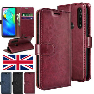 Case For All Motorola Mobiles Phone Premium Leather Flip Wallet Stand Case Cover