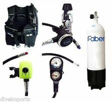 Performance Diver Pro 1000 Scuba Set with Faber Steel 12.2 Litre Cylinder - NEW