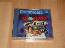 Lombrices World Party Sega Dreamcast Versión PAL