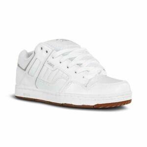 DVS Men's Enduro 125 White / Gum Nubuck Skate Shoes Trainers UK 8 EU 42.5