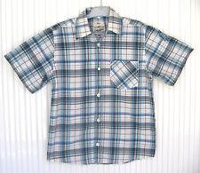 Chemise garçon C&A 8 ans à carreaux bleus 100% coton