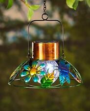 SOLAR DRAGONFLY GARDEN LAMP LANTERN HANGING OUTDOOR GARDEN HOME DECOR LIGHTING