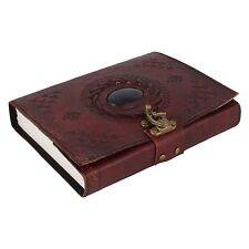 "Leather Diary / Journal / Notebook ""Ancient Stone"" For Gift Or Personal Memoir"