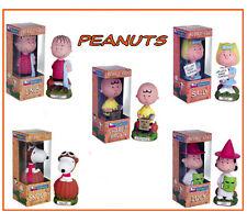 PEANUTS GREAT PUMPKIN HALLOWEEN Charlie Lucy Snoopy Linus Sally 5 bobbles Funko