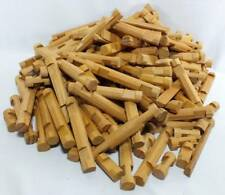 Large Lot Lincoln Logs Light Color Over 190 Pieces