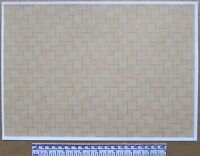 Dolls house 1/12th scale paper - A4 sheet - beige ceramic tile flooring