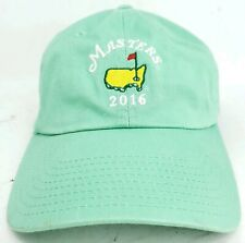 2016 Masters Golf Green Hat Cap Embroidered Adjustable American Needle Ladies